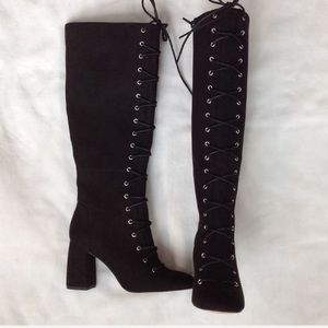 Bcbgeneration nwob lace up black boot